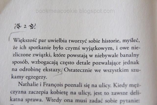 Foenkinos Delikatność book me a cookie recenzje książek recenzja cytat blog literacki (1)
