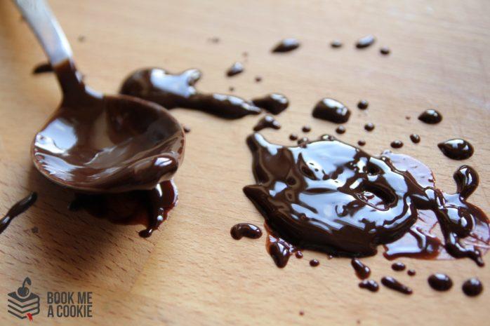 przeboskie brownie ciasto czekoladowe book me a cookie przepisy przepis na ciasto czekoladowe brownie blog kulinarny literacki książkowy (9)